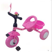 Tricycle pour enfants en couleur rose, tricycle pour enfants, tricycle pour bébés