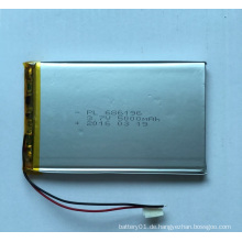 506890 Li-Polymer 3600mAh 3.7V Kleine Lithium-Polymer-Batterie
