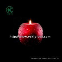 Single Color Glass Candle Cup (KL101012-36)