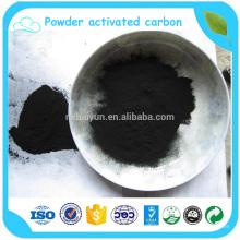 Filtro de carbono ativado em pó para purificação de álcool em produtos químicos industriais