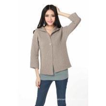 Women′s Fashion Cashmere Cardigan (3114-2013040)
