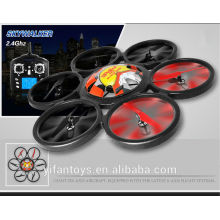 2014 ¡Nuevo llega! WLtoy V323 Grande / Grande quadcopter rc 2.4G 6 ejes 4CH RC UFO quad helicóptero modelos de motores de avión