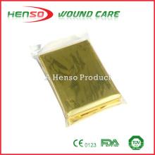 Cobertura de alumínio dourado HENSO