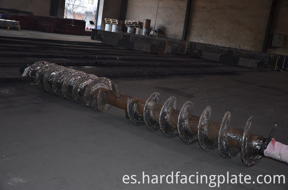 Hardfacing Auger Screw