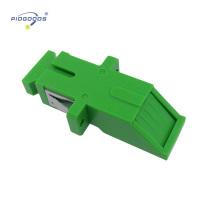 baixo acoplador foptic da fibra do único modo SC / PC da perda de inserção com obturador