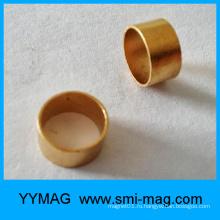 Недорогой золотой кольцевой магнит FeCrCo