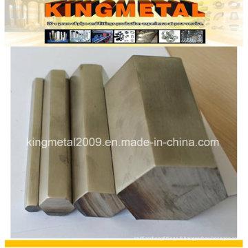Barre hexagonale étirée à froid en acier inoxydable 430