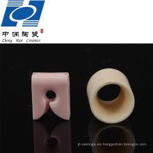 Piezas de cerámica de la materia textil del alúmina de la pureza elevada el 99%