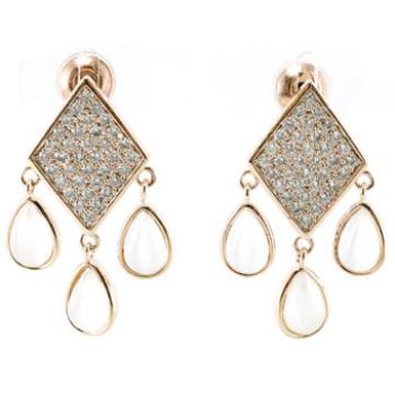 Neues Design für Damen Ohrring 925 Silber Schmuck (E6510)