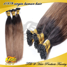 Factory price 100% remy remy 1g stick tip hair extensions russian i tip hair extensions wholesale