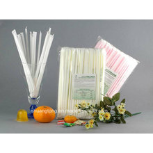 Biodegradable Compostable Eco-Friendly Individual Wrapped PLA Straw (79002)