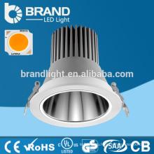 Топ высокое качество 20/30 градусов утопленный светодиодный светильник 30 Вт, светодиодный вниз света COB 30W, 5 лет гарантии