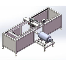 Automatic Silk Screen Printing Machine Gas Tank Printing Machine