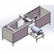 Máquina de impressão de tanque de gás máquina de impressão automática da tela de seda