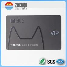 Tarjeta magnética de impresión transparente personalizada para VIP