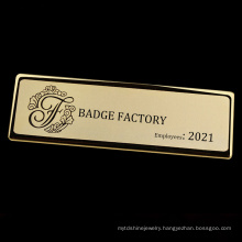 High Quality School Company Hospital Dye Black Plating Custom Soft Enamel Pin Badges