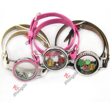 Bracelet en cuir PU pour jeune fille Décoration de mode (ZC-BL194-196)