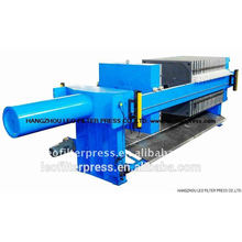 Leo Filterpresse für Bau Baustelle Slurry Filtration
