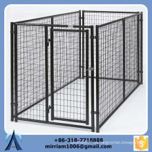 Venta directa de la fábrica durable y anti-herrumbre jaula del perro para la venta barato