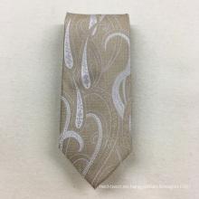 Corbatas tejidas Paisley de seda italianas al por mayor más nuevas