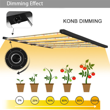 Kan dæmpes 600W LED Grow pære