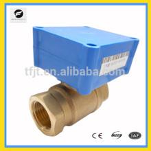 Electric ball valve supermini DC3-6V DC12V DC24CV for water system treatment