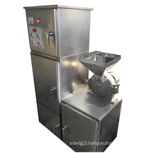 Pulverizer  grinding hammer mill flour making machine crushing milling for coffee and protein powder with dust removal bag