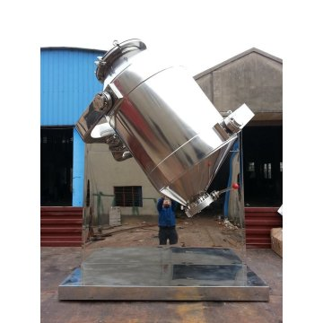 Three-Dimensional Mixer Equipment for Dry Powder Mixing