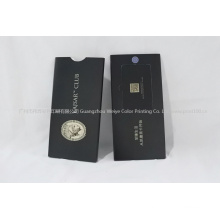 Custom Printing Spot UV Greeting Card Promotion Packaging Box