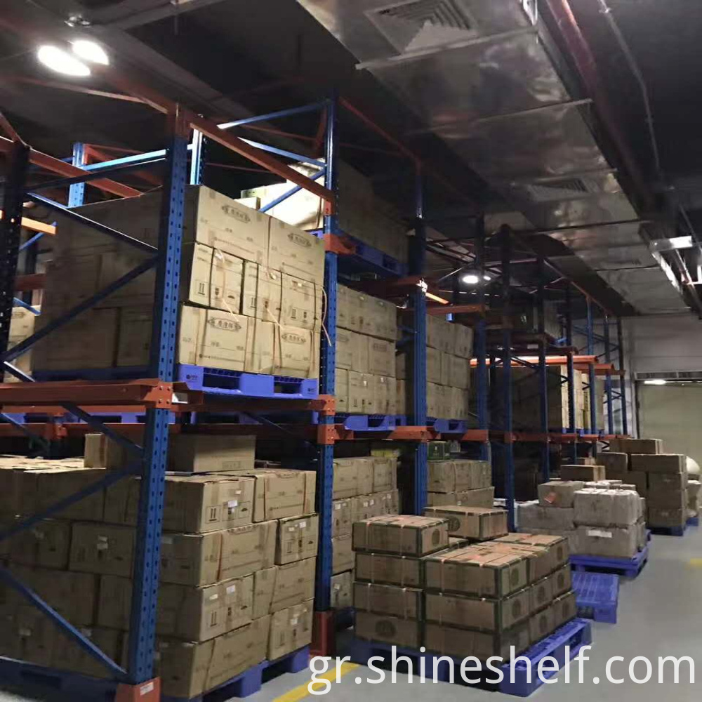 Drive in Pallet Racking for Tea Storage (8)