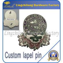 Insignia de metal con logotipo personalizado