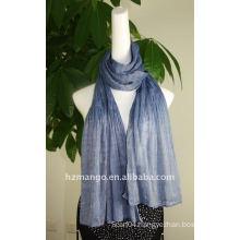 Fashion viscose long elastic scarf