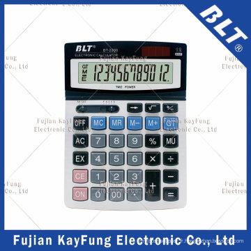 Calculatrice de bureau à 12 chiffres pour la maison et le bureau (BT-2200)