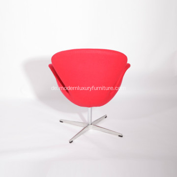 Arne Jacobsen Kaschmirwolle Swan Lounge Chair Replica