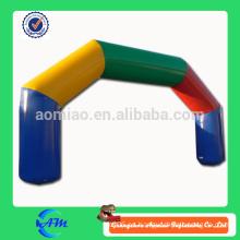 Arco inflable barato que hace publicidad del arco inflable arco inflable de la línea del principio / de final