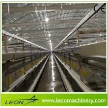 Leon series complete automatic battery cage system for chicken house/shed with CE