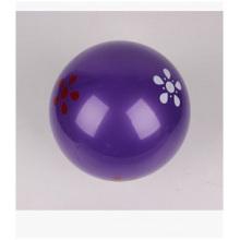 """7 """"boule de plage gonflable, boules violettes de plage de PVC pour la promotion"""