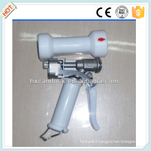 White cover stainless steel heavy duty wash down gun