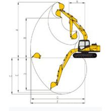 13 Ton Jcm Crawler Excavator (913D)