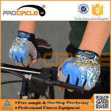 Wholesale Custom Half Finger Exercise Bicycle Gloves