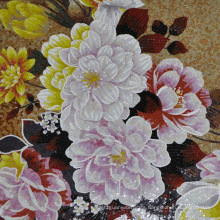 Mosaic Mural Picture Hand Cut Flower 1