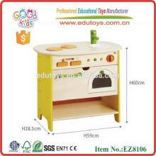2014 new wooden island kitchen toy,popular wooden island kitchen for kids ,hot sale wooden island kitchen