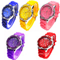 New Arrival Girls Silicone Wristwatches Quartz Watch