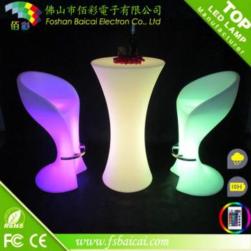 Runde LED Bar Tisch Hotel Möbel für Veranstaltung