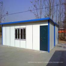 Maison préfabriquée de structure en acier (KXD-pH1385)