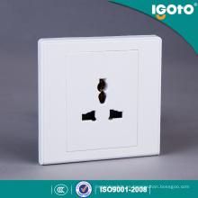 Igoto British Standard D2061 Nuevo diseño Electrical Multi 3 Pin Socket de pared