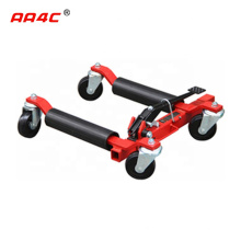 AA4C 9 inches  mechanical Car Go Jack Car Dolly Car Wheel Moving Dolly Vehicle Positioning Jack 4 wheels dolly