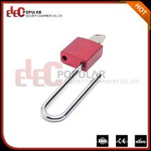 Elecpopular 2017 Productos calientes Seguridad Long Shackle Doble Llaves ISO Aluminio Candados