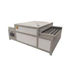 Insulating glass horizontal hot pressing machine