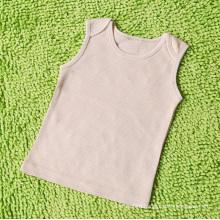 100% Nature Organic Cotton Baby Vest